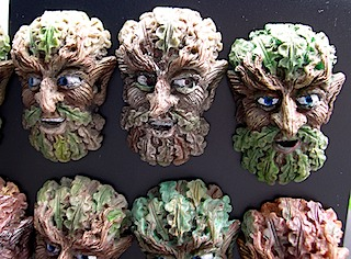 green man magnet